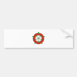 England's Tudor Rose Bumper Sticker
