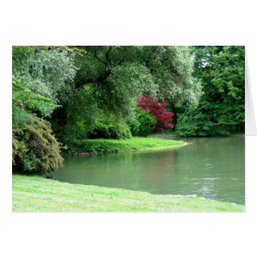 Englischer Gardens Greeting Card