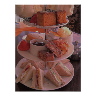 English Afternoon Tea Poster/Print Poster