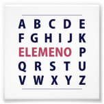 English Alphapbet ELEMENO Song