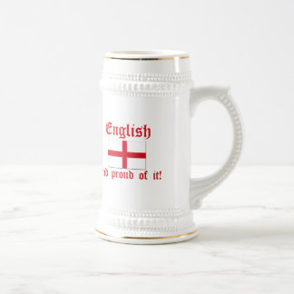 English And Proud Of It! Beer Steins