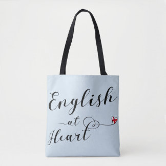 English At Heart Grocery Bag, England Tote Bag