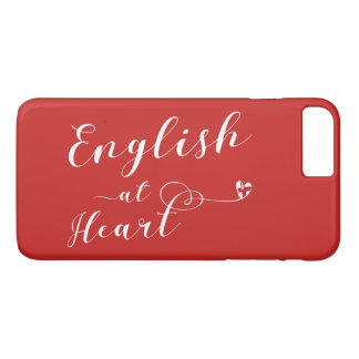 English At Heart Mobile Phone Case