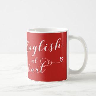 English At Heart Mug, England Coffee Mug