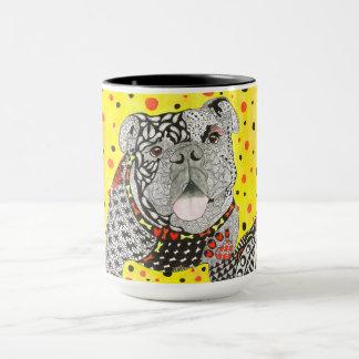 English Bulldog 15 oz Mug (Customisable)