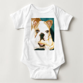 "English Bulldog ""Adagio"" Baby Bodysuit"