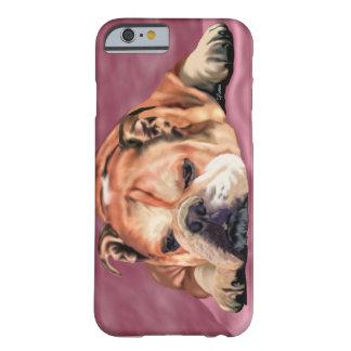English Bulldog Art Print Barely There iPhone 6 Case