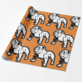 English Bulldog Birthday Gift Wrap