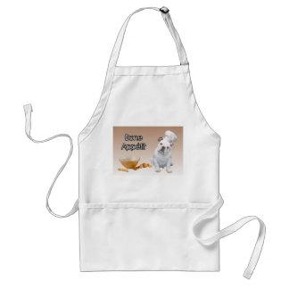 English Bulldog Bone Appetit Chef Apron