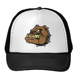 English Bulldog Cartoon Cap