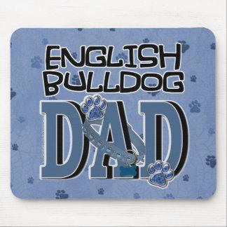 English Bulldog DAD Mouse Pad