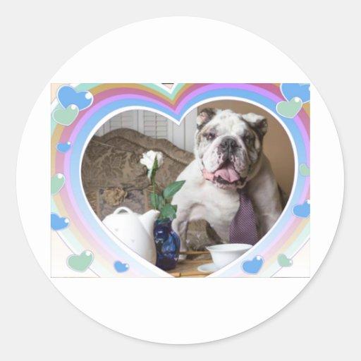 English Bulldog Design Sticker