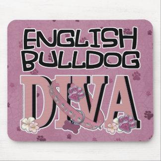 English Bulldog DIVA Mouse Pad
