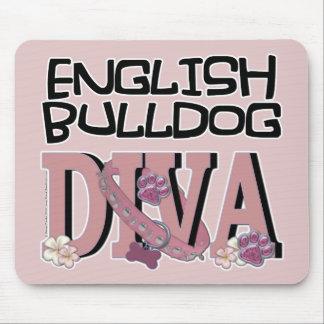 English Bulldog DIVA Mouse Pads