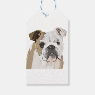 English Bulldog Gift Tags