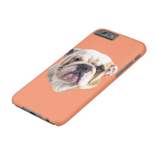 English Bulldog Head by Painteddreamsdesigns Barely There iPhone 6 Case