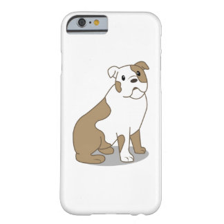 English Bulldog Illustration Barely There iPhone 6 Case