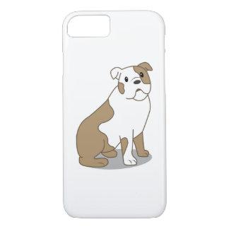 English Bulldog Illustration iPhone 7 Case
