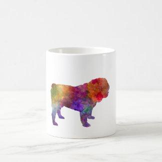 English Bulldog in watercolor Coffee Mug