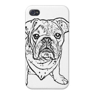 English bulldog iphone case iPhone 4/4S covers