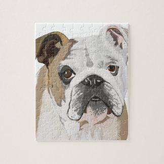 English Bulldog Jigsaw Puzzle