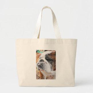 English Bulldog Jumbo Tote Bag
