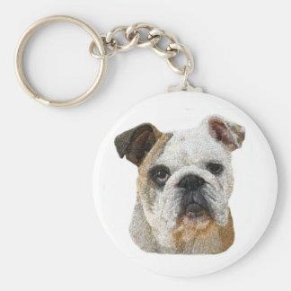 English Bulldog Key Chains