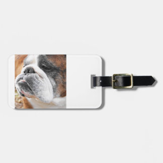 English Bulldog Luggage Tag
