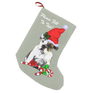 English Bulldog Merry Christmas