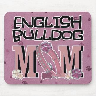 English Bulldog MOM Mouse Pads