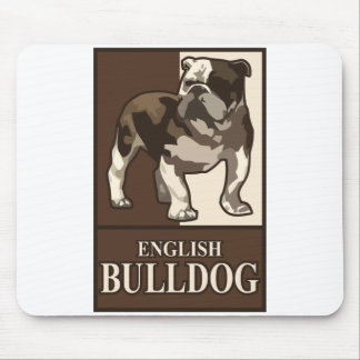 English Bulldog Mouse Mat