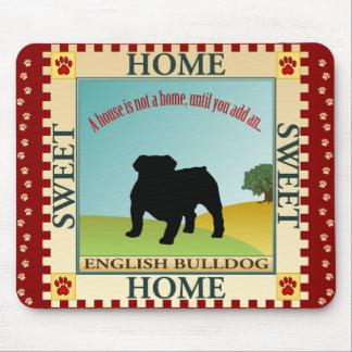 English Bulldog Mouse Pads
