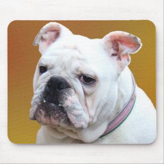 English bulldog mousepad