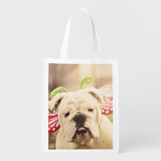 English Bulldog Photo Art Tote Bag