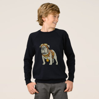 ENGLISH BULLDOG PILOT SWEATSHIRT