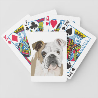 English Bulldog Poker Deck