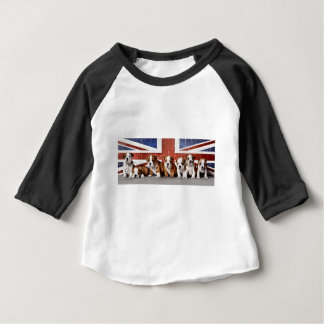 English bulldog puppies baby T-Shirt