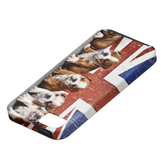English bulldog puppies iPhone 5 case