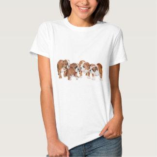 English Bulldog Puppies Shirts