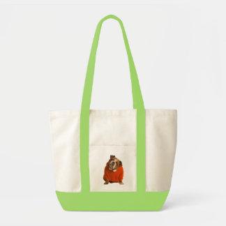 English Bulldog Puppy Dog Tote Bag