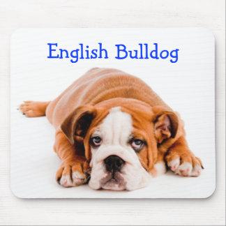 English Bulldog Puppy Mousepad