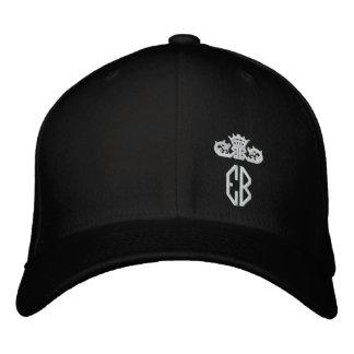 English Bulldog Royal Embroidered Hat