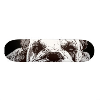 English Bulldog Skateboard