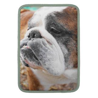 English Bulldog Sleeve MacBook Sleeve