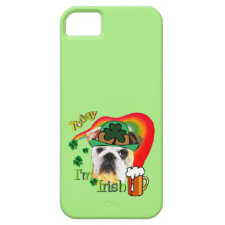 English Bulldog St Patricks Day iPhone 5 Case