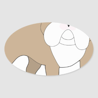 English Bulldog Sticker