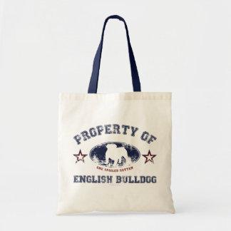 English Bulldog Bag