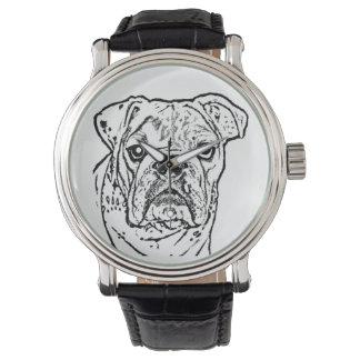 English Bulldog watch