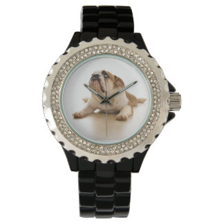 English Bulldog Wrist Watch