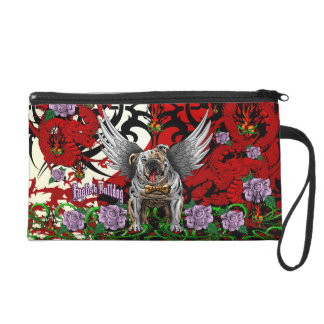 English Bulldog Wristlet